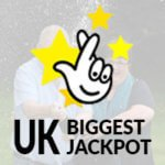 UK biggest jackpot and euromillions icon